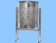 Papelera acero INOX