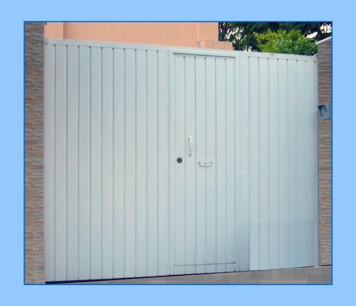 modelos de puertas metalicas para garaje materiales de