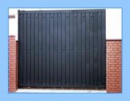 Puerta de garaje modelo RECTA