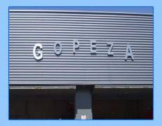Rótulo modelo GOPEZA
